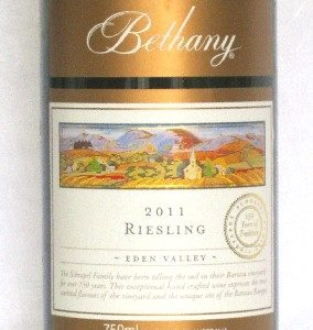 Bethany Dry Riesling 1
