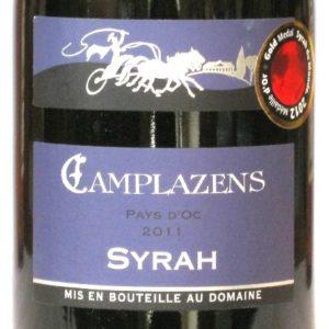 Ch Camplazens Syrah