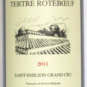 Ch Tertre Rotboeuf 1