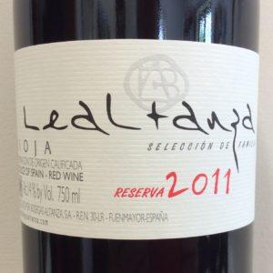 Lealtanza Reserva Rioja