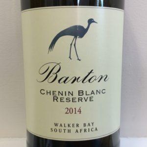 2014 Barton Chenin Blanc Reserve