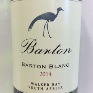 2014 Barton Blanc