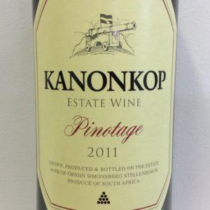 2011 Kanonkop Pinotage