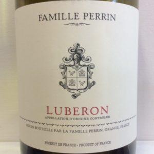 2016 Luberon Blanc, Famille Perrin