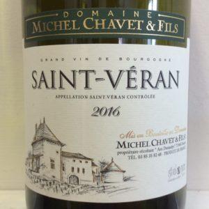 2016 Saint-Veran, Dom. Michel Chavet