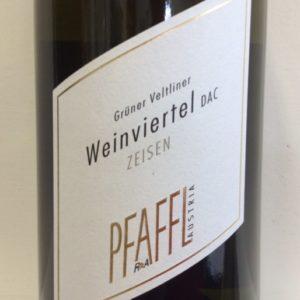 2017 Pfaffl 'Zeisen' Gruner Veltliner Dry White