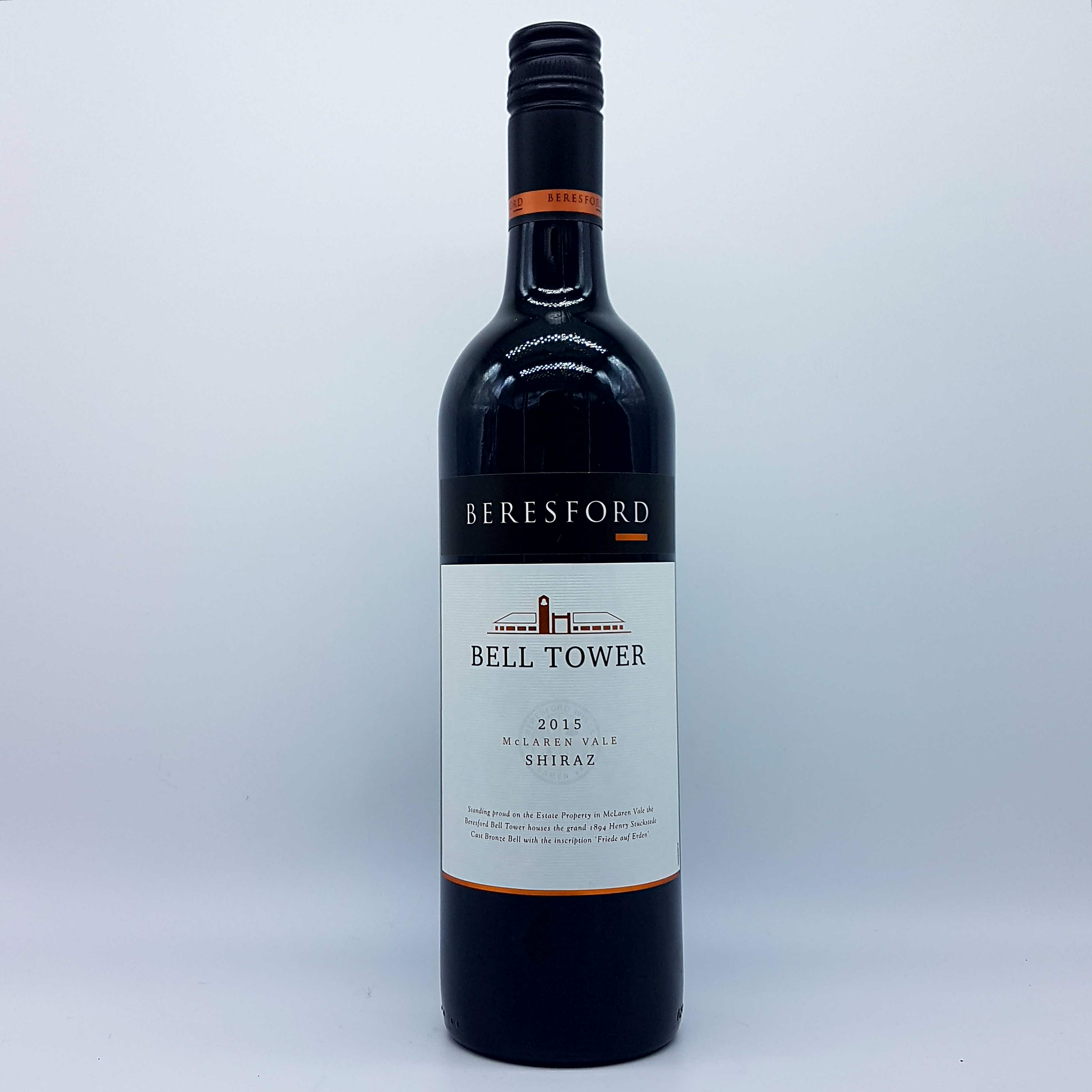 2015 beresford bell tower shiraz - quality wines from peter osborne