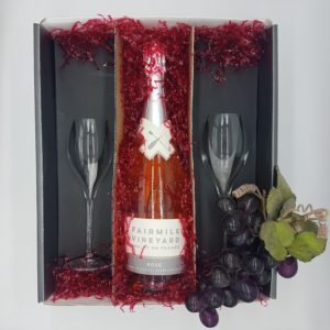 Fairmile Vineyard Rosé Sparkling wine Gift Case